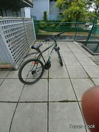 black and red hardtail mountain bike Port Coquitlam, V3B 1J2