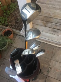Golf clubs, bag and balls Linganore, 21774