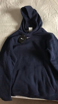 Brand new with tags on boys XL navy blue hoodie  Edmonton, T6L 6X6