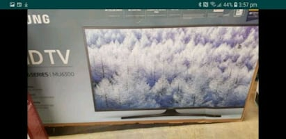 "TV 55"" SMSNG 4K SMART NEW"