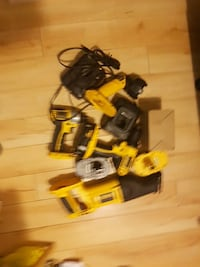 yellow-and-black power tool set Calgary, T2A 3K8