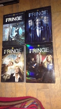 four Fringe DVD cases Montreal, H3W 2E7