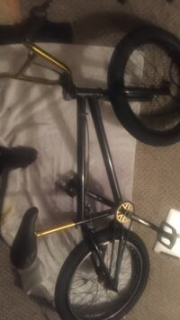 black and gray bicycle frame Edmonton, T5T 0H5