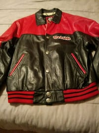 """Leather """"Red Wings"""" Jacket Cassopolis, 49031"""
