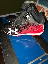 Under Armour youth cleats.