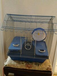 black and white metal pet cage Barrie, L4N 1G6