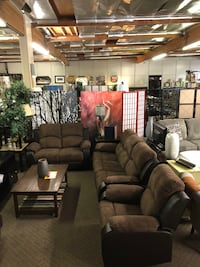 Short Sale! Brand New 3pc Reclining Sofa + Reclining Loveseat + Recliner Chair $999, We Finance with No credit Sacramento, 95835