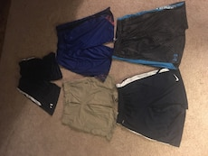 men's five assorted colors shorts