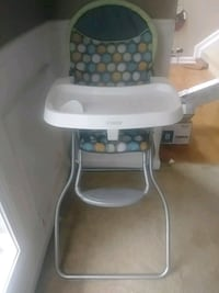 baby's white and gray high chair Simpsonville