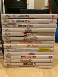 Pre-Owned Wii Games Rockville, 20854