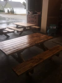 New kids picnic tables