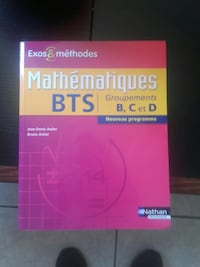 Mathematiques BTS textbook