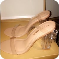 Clear Ankle Strap Heels | Brand New Surrey, V3R 3X1