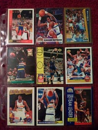 Dikembe Mutombo 9 Card Lot Morton, 61550