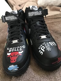 Supreme NBA Air Force 1 negotiable  Burlington, L7M 5C2