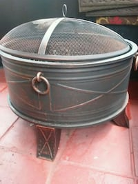 round black and gray metal container Deerfield Beach, 33441