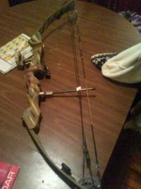 brown and black compound bow Johnstown, 12095