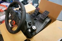 Logitech Driving Force wheel with Gear Shifter and Force Feedback Springfield Township, 07081