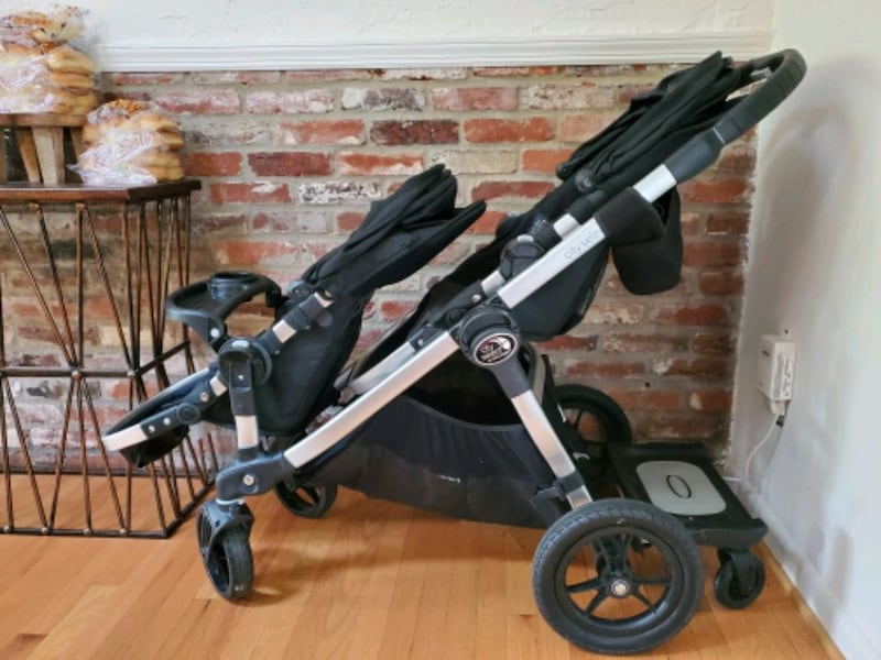 Baby Jogger City Select Double Stroller w/ XTRAs 46442fcb-f895-4ed8-988f-6153fef70092