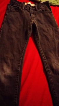 Black and red denim jeans size 10 boys  Yuma, 85364
