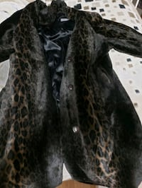 Beautiful animal print mink coat so soft  Calgary, T2J 0T2