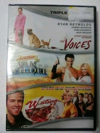 Ryan Reynolds triple feature dvd