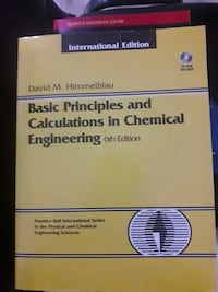 Basic principles and calculations in chemical enginering Sincan, 06949