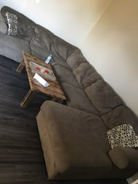 Large Sectional with pillows Fort Saskatchewan, T8L