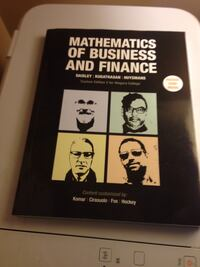 Mathematics of Business and Finance Lincoln