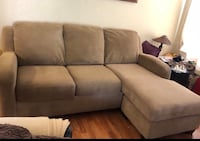 Brown sectional semi new from Macy's furniture  Salinas, 93906