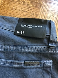 New Joe's jeans - men, waist 31, straight/narrow (paid $180) Montréal, H3G 1Y5