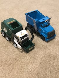 GARBAGE TRUCK HOT WHEELS CARS TOYS DUMP TRUCK Holiday gift