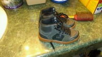 Black DK hightops new never worn size 11 kids