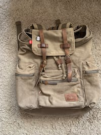 Bluboon Canvas Backpack