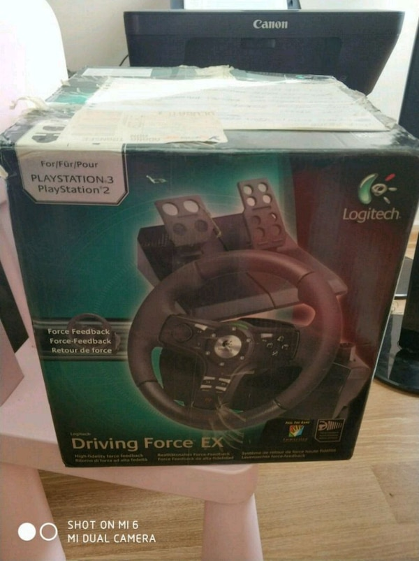 ccc838ef1de Used Logitech driving force ex direksiyon ps3 ve pc for sale in ...