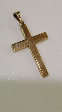 Solid Gold 14kt cross