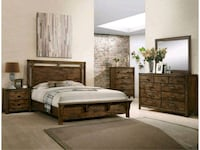 New 5pc. Queen Bedroom Set Austin