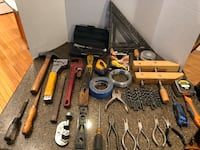 Large Lot of Tools With Toolbox 43 km