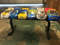 R/C car 1:10 scale electric and gas powered ( Team associated & others) 4wd touring car kits  5 FULL car sets, chassis', remotes( AirTronics & high tech sports), wheels, motors, glow starters, batteries, etc... Cypress, 90630