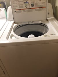 Great condition washer and dryer barely used