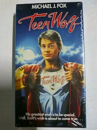 Brand new Teen Wolf vhs (sealed)