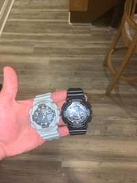 Two g shock watches, with 100$ value each and looking for 85