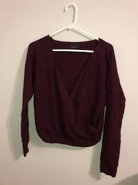 Burgundy sweater Fredericksburg, 22407
