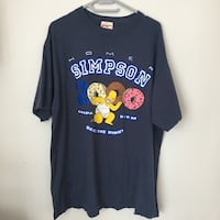 Vintage Homer Simpson T shirt Y2K size Large more like XL condition 8/10 Oakville, L6L 3M7