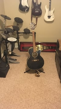 Takamine electric acoustic guitar