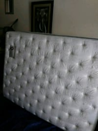 tufted white and gray mattress Bakersfield, 93306