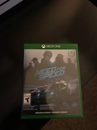 Xbox One Need for Speed case Moreno Valley, 92555