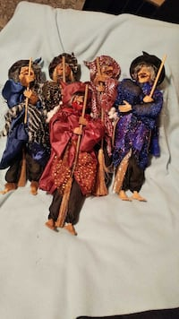 "Halloween Witches...18 "" tall...new Vaughan"