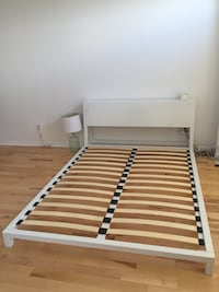 Metal Queen Bed Frame (From CB2 ) Brossard