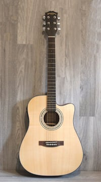 Top Solid Cedar Acoustic Electric Guitar 41 inch full size brand new with accessories Toronto